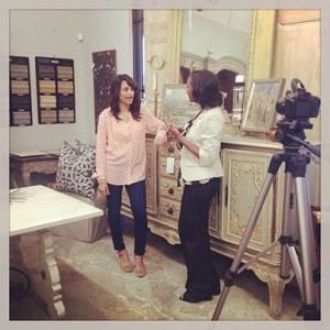Interviewing Amitha Verma with Village Antiques