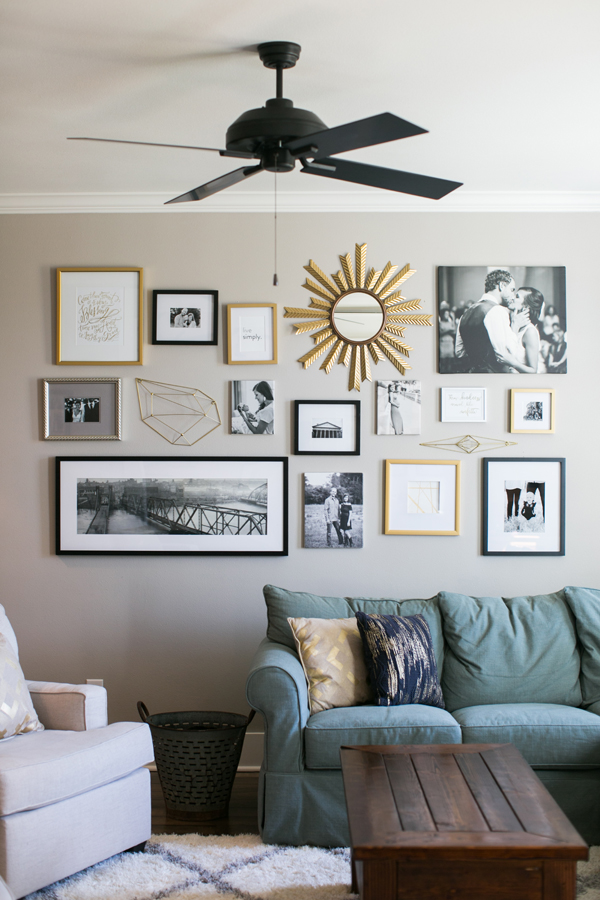 How To Hang A Great Gallery Wall Inspired To Style