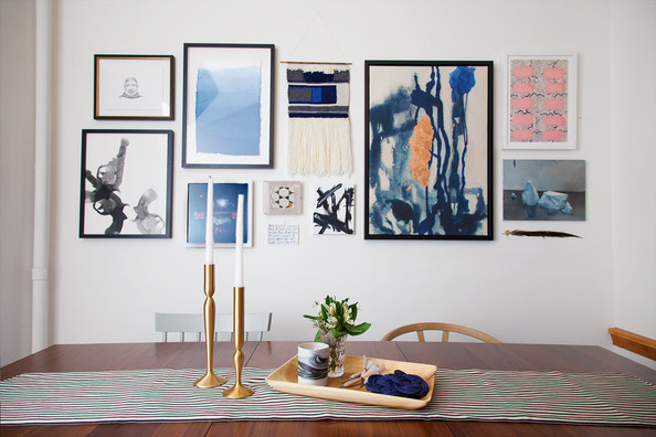 Gallery Wall Design design 101: how to hang a great gallery wall - inspired to style
