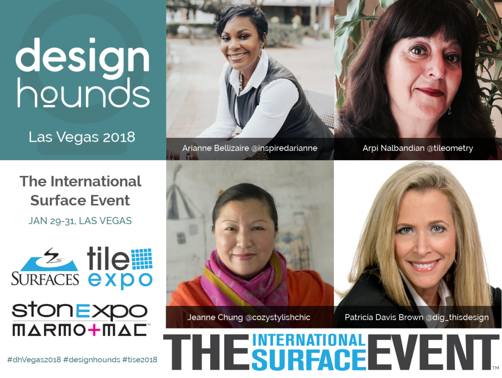 designhounds international surface event social media logo arianne bellizaire arpi nalbandian jeanne chung patricia davis brown
