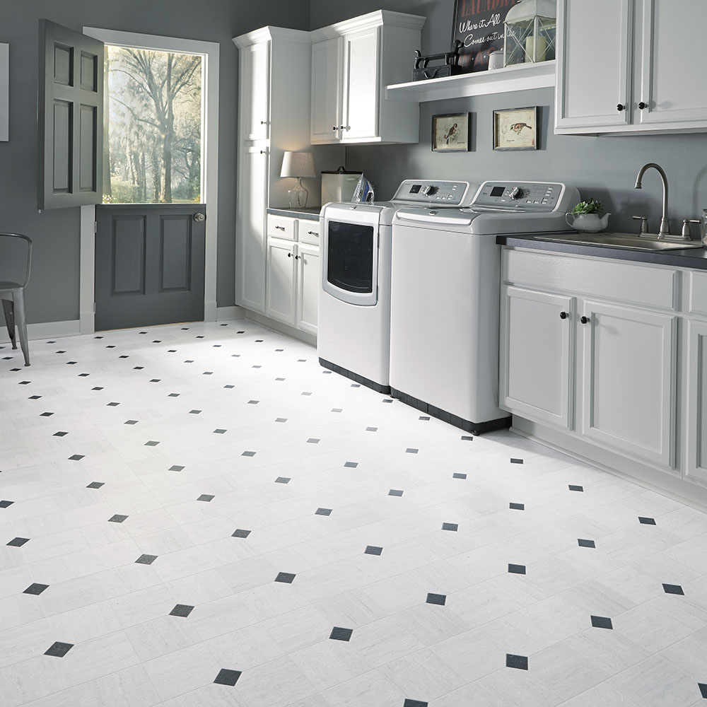 Mannington Mills Empire_Carrara_White_130360_RS