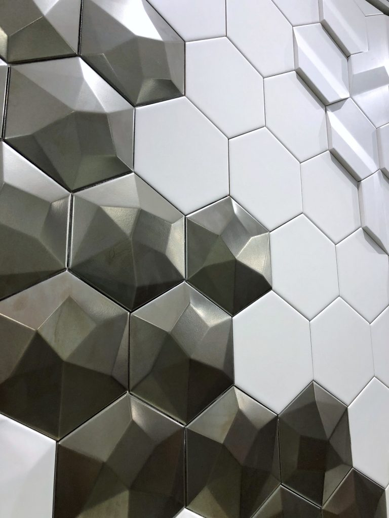 emser tile three dimensional geometric tile