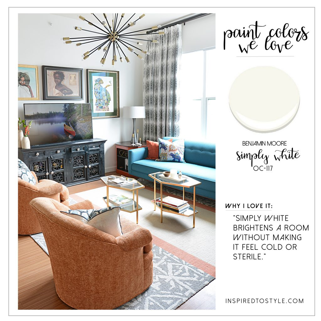Benjamin Moore Simply White: 6 Of My Favorite Paint Colors & Why They Work