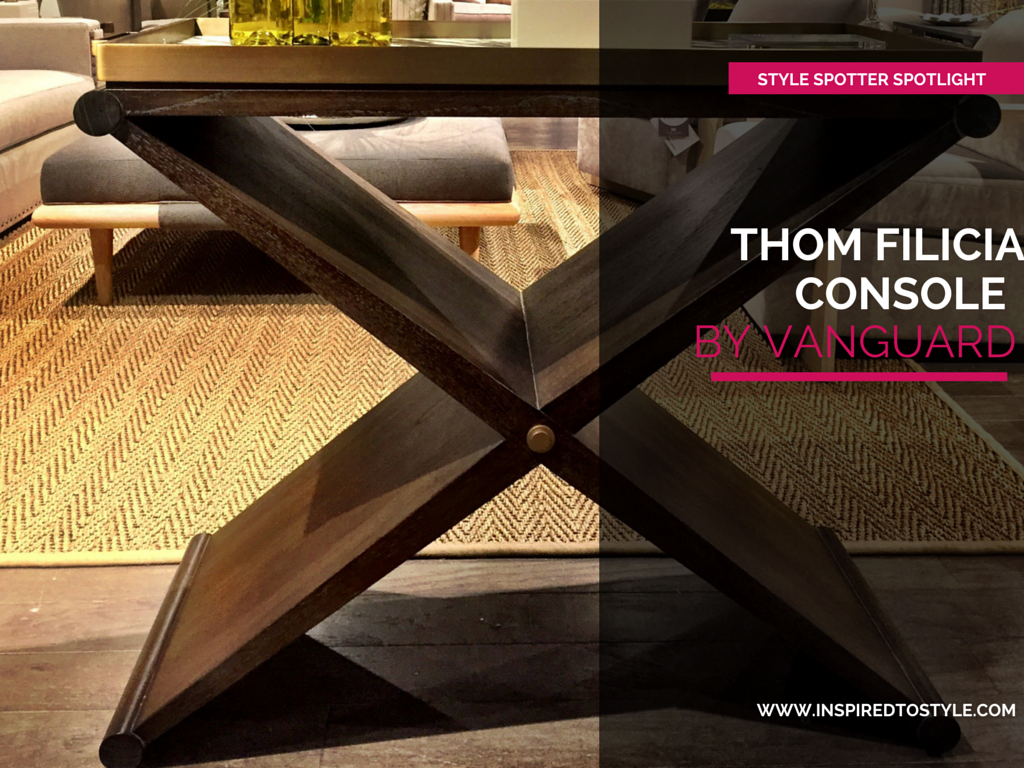 thom filicia serving cart entertaining in style inspired to style. Black Bedroom Furniture Sets. Home Design Ideas