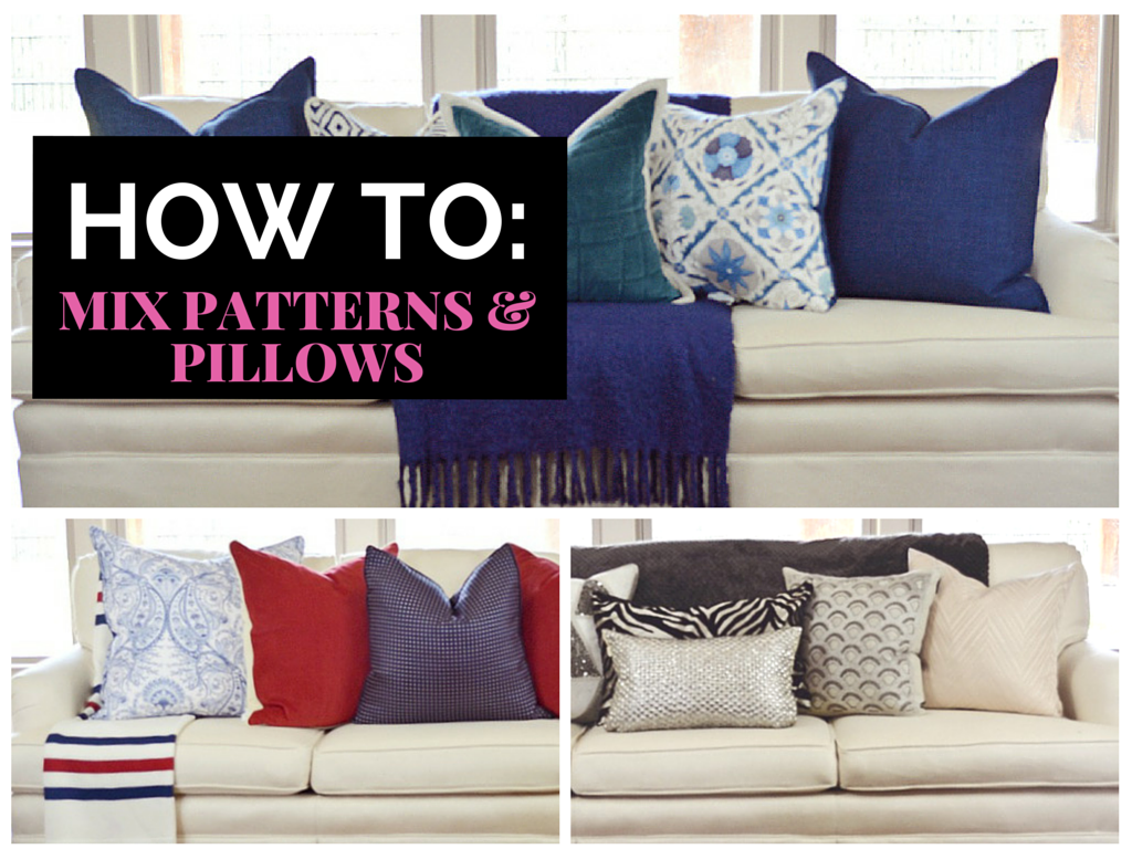 learn how to mix prints patterns fabric home decor pillows interior design how to guide video