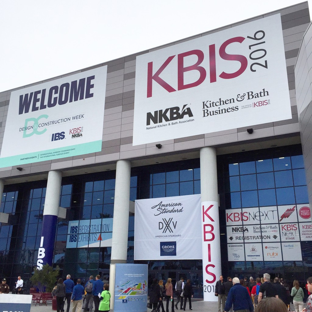Kbis 2016 top 5 kitchen and bath design trends inspired for Kitchen and bath show las vegas