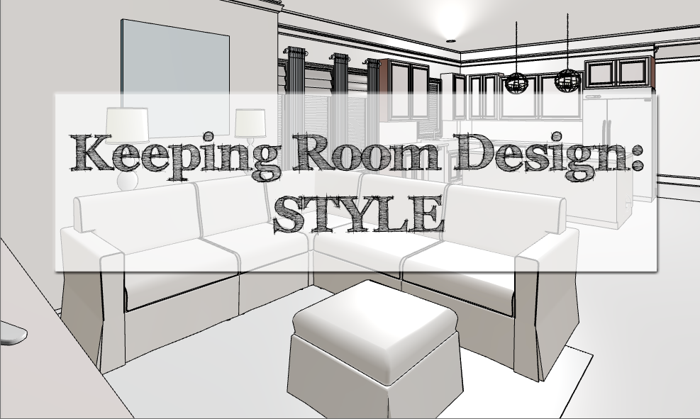 Kitchen Keeping Room Design Style Inspired To Style
