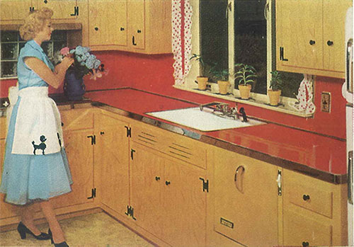 Merveilleux GE Vintage Kitchen Countertops Laminate