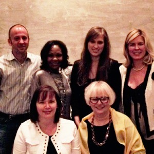 Houston Bloggers dinner with Jeremy Parzen, Paloma Contreras, Lisa Hough, Karen Davis and Leslie Carothers