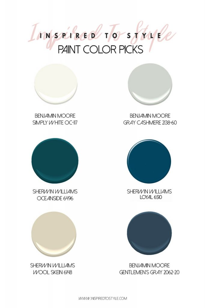 6 Of My Favorite Paint Colors Why