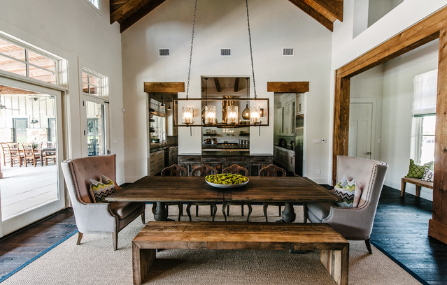 Inspiring Rooms Elegantly Rustic Dining Room Inspired